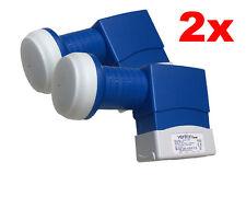 2X Venton QUAD Quattro Switch LNB BL-QS BLU Series Full HDTV 3D 4K ( SKY  LIGTV)