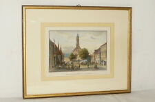 Old Picture Frame Stitch Steel Engraving Lithography Austin Marketplace Litho