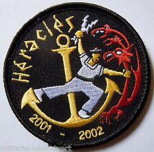 Insigne Patch AERONAVALE MISSION HERACLES PORTE AVIONS CHARLES DE GAULLE 2001/02