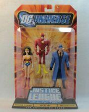 Mattel DC Universe Justice League Action Figure Set Wonder Woman Flash Question