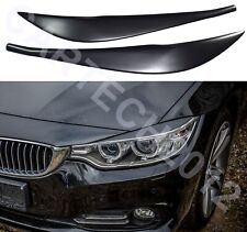 BMW 4 Series F36, F80 M4, F32 PreLift  Headlights EyebrowS Eyelids ABS PLASTIC