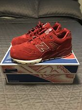 Brand New New Balance MRT580 Red Suede Size 9 Runner Casual Sneaker 3M Classic