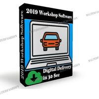 2019 Autowerkstatt Garage⭐⭐2018.1 Technische Reparaturdaten Software⭐⭐