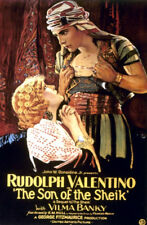The Son of the Sheik (1926) Rudolph Valentino Vintage-Style 12x18 Movie Poster