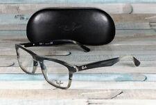 RAY BAN RX5279 5540 Grey Horn Grad Trasp Grey Demo Lens 55 mm Men's Eyeglasses