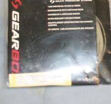 Gearbox Black Mono String 17 gauge 45 feet package string / 3 packs