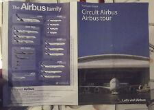 Dépliant Circuit Airbus ,Let's visit Airbus A380;A320;A330;A340;ACJ;A350 XWB,MIL