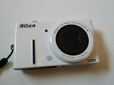 Nikon COOLPIX P310 16.1 MP Digital Camera - White with 16G SD card