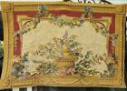 """FLORAL TAPESTRY 28"""" X 41""""  'BEAUREGARD' MADE  IN FRANCE"""