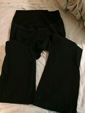 Cherokee Black Scrub Pants Maternity Size S