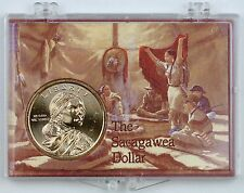 2016-D Uncirculated Native American Dollar Code Talkers Coin in Snap-lock Case