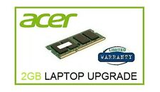 2 GB di memoria Ram Upgrade Per Acer Aspire E1-471G, 510 / 510P 521 e 522 Laptop
