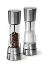 COLE & MASON Stainless Steel Salt and Pepper Mills Set