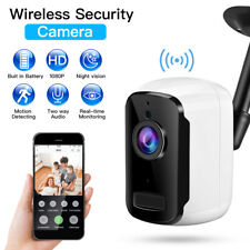 WiFi Wireless Battery Powered Camera 1080P PIR Infrared 6000mAh Waterproof