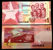 Ghana 1 Cedi Banknote World Paper Money UNC Currency Bill Note