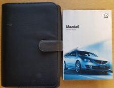 MAZDA 6 MAZDA6 HANDBOOK OWNERS MANUAL WALLET 2008-2010 PACK B-640
