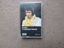 Elvis Presley A Canadian Tribute Cassette