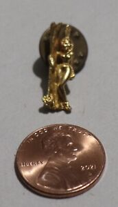 "Vintage 1969 Micro Cast ""Squaw"" Ski Pin, Auburn, California"