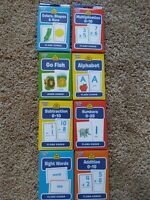 Back to School Flash Cards - pre-k - 3rd grades: numbers, alphabet & more