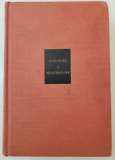 The Histories of Shakespeare; Volume One MODERN LIBRARY - Hardcover