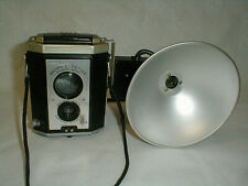 Kodak Brownie Reflex Synchro Model TLR Twin Lens Reflex Camera w Flash