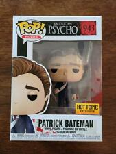Funko Pop American Psycho #943 - Hot Topic Exclusive - Bloody - New - Nice Box