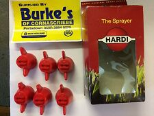 Genuine Hardi Crop Sprayer Nozzle Cap Red F-04-110 Pack Of 6  HS- 755631