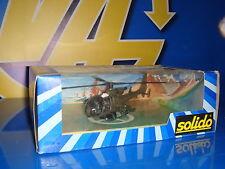 Helicoptero metalico SOLIDO nuevo precintado color verde militar