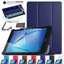 """New 2017 Huawei MediaPad T3 10 (Tablet 9.6"""") Smart Case Book Hard Shell Cover"""