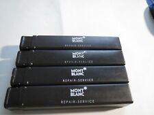 MontBlanc  Pen Repair Service Hard Plastic Cases x 4