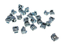 """25 Pack #10-24 Self-Retaining Cage Nuts - 3/8"""" Panel Hole Size     BFC7931-1024"""