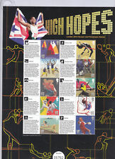 CSS-015 - 2012 London Olympics 'High Hopes' Commemorative Stamp Sheet-fine used