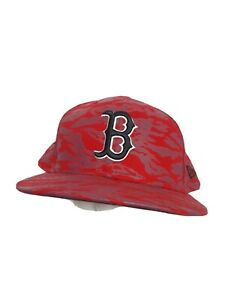 Boston Red Sox Camoflauge Camo Baseball Fitted Hat Size 8
