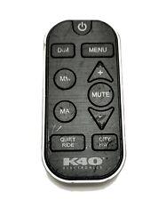 OEM K40 Remote Electronics Radar Detector FCC ID W75-RL-RCU II Rough Condition