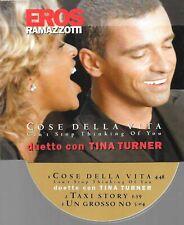 EROS RAMAZOTTI + TINA TURNER - cose della vita - CD 3  tracks