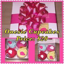 Onesie Cupcake Boxes