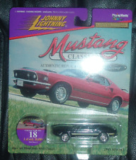 1969 FORD MUSTANG MACH 1 Mustang Classics 2 #18 JOHNNY LIGHTNING Importazione USA