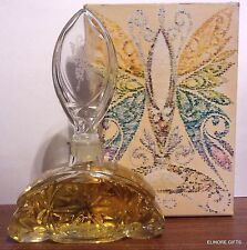 Avon Decanter Art Deco Cologne Crystalique W 4 Oz Sonnet New In Box