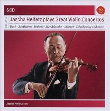 Jascha Heifetz Plays Great Violin Concertos (CD, Nov-2010, Sony Classical) NEW