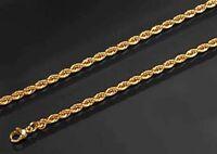 AMD GOLD DOUBLE *** Kordel Armband Armkette 19 cm Kordelkette vergoldet