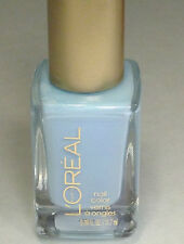 NEW L'OREAL NAIL POLISH LACQUER ROMANCE ROYALLY YOURS PASTEL BLUE BABY LIGHT LE