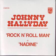 CD 2 titres JOHNNY HALLYDAY *** ROCK N'ROLL MAN ** NADINE  n°145