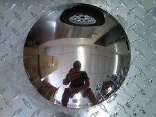 "(4) Stainless Steel Baby Moon 8"" Golf Cart Trailer Hub Cap Rim Yamaha EZGO"