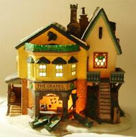 Dept 56 Heritage Dickens Village THE GRAPES INN 5th Edition 1996 Lights Orig Box