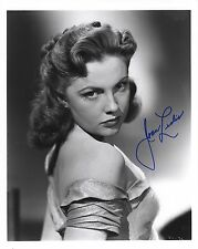 JOAN LESLIE HAND SIGNED 8x10 PHOTO+COA          STUNNING HOLLYWOOD LEGEND