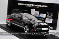 AUTOart 1:18 ford SHELBY GT500 2010 black