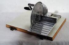 Vintage Brotschneidemaschine manueller Allesschneider Brotmaschine Zassenhaus