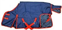 **CLEARANCE** Waterproof 600d Mediumweight Turnout Horse Rug 200g Fill