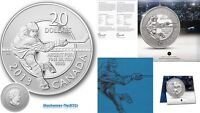 2013 Silver $20 HOCKEY Coin
