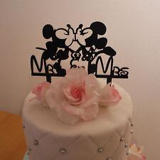 Tortenstecker Cake Topper Fondant Hochzeit Acryl Stecker Tortenfigur Micky&Minni
